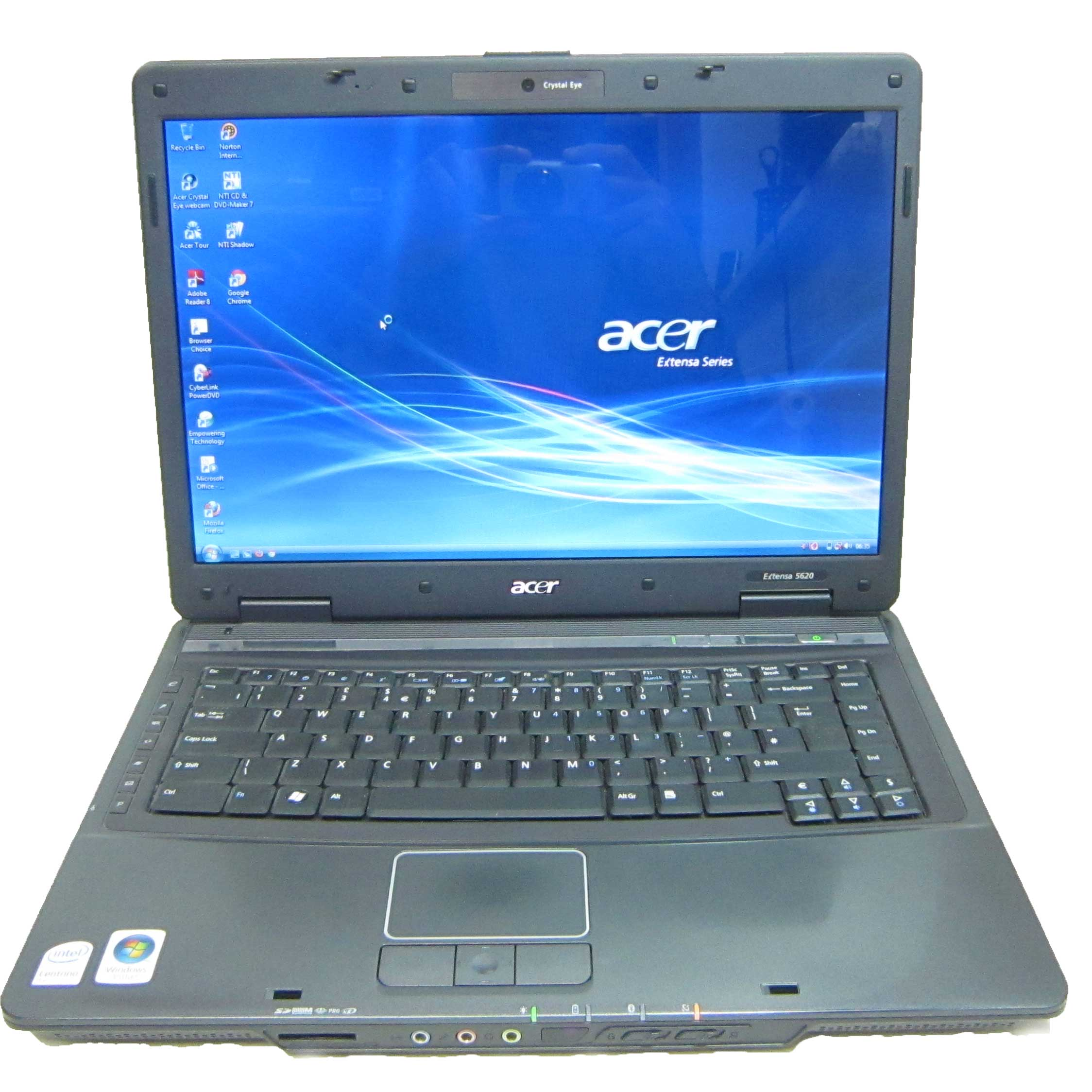 Acer Extensa 5620 160gb 2gb Intel Core 2 Duo Webcam 15.4quot; Laptop