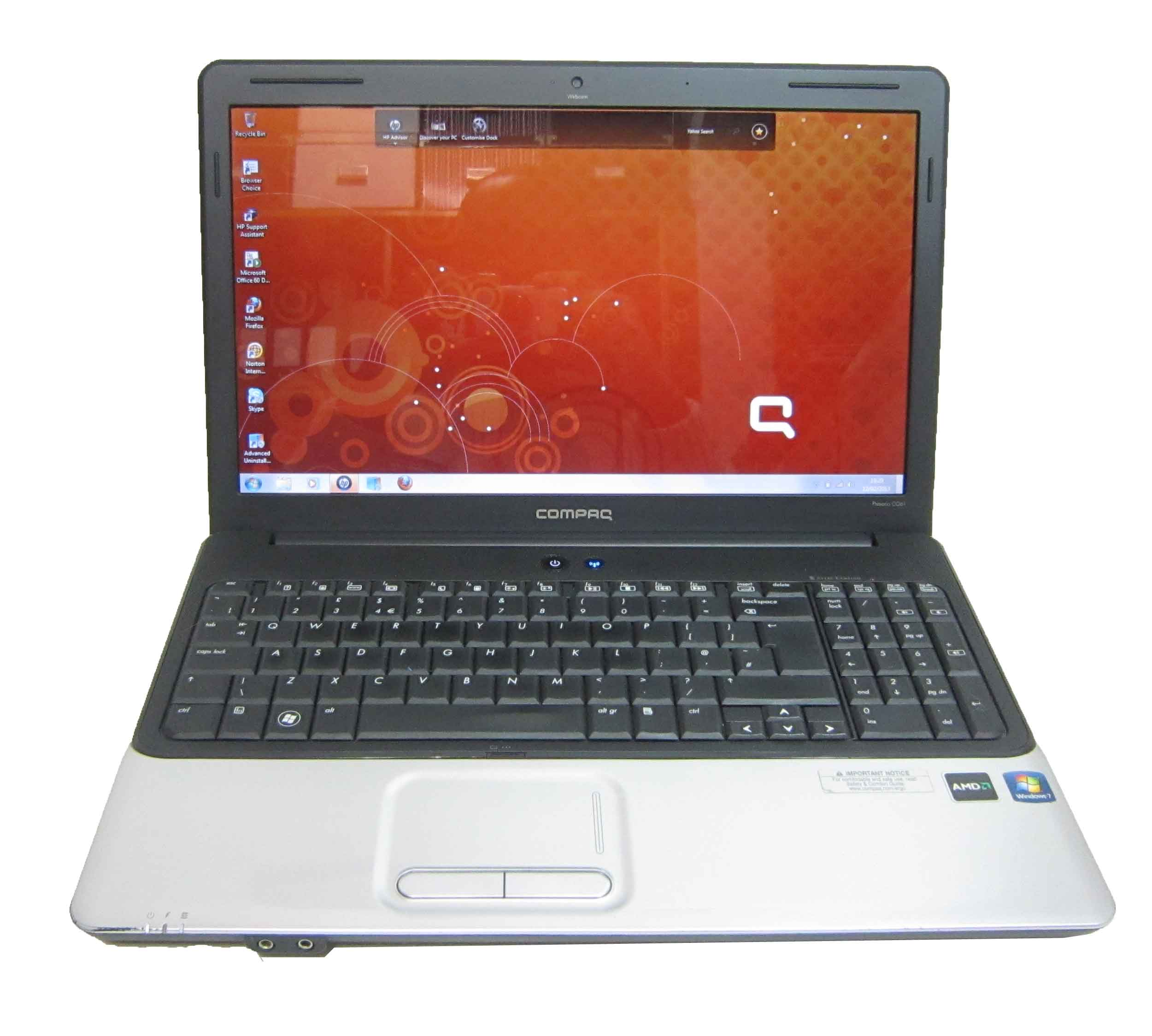 Compaq Presario CQ61 15.6quot; Laptop  HDMI 2GB 250GB Webcam
